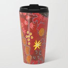 Aboriginal summer Travel Mug