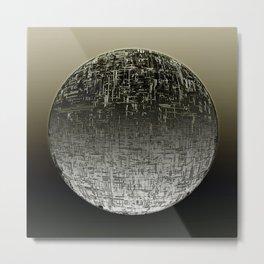 Planetary Mood 4 / Divergence Metal Print
