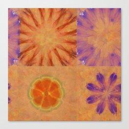 Triumvirs Unconcealed Flower  ID:16165-043712-23190 Canvas Print