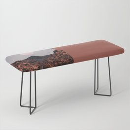 Road Red Moon Bench