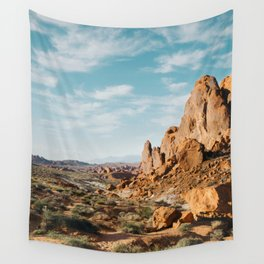 Rock Mountains in the Desert Wall Tapestry