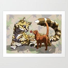 Ozelove Art Print