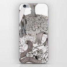 Camelia field iPhone & iPod Skin