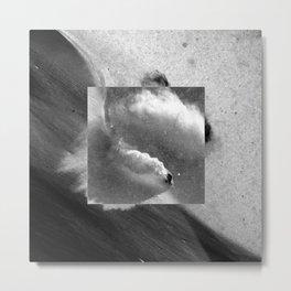 Square - Off-piste Metal Print