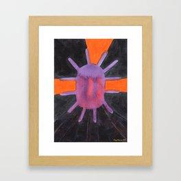 Purple Projector Framed Art Print