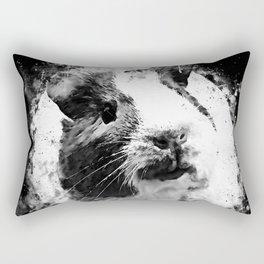 guinea pig ws bw Rectangular Pillow