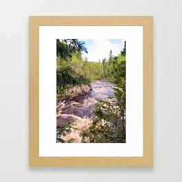 The Brule River Framed Art Print