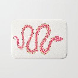 Pink & Gold Serpent Bath Mat