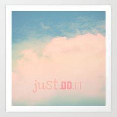 Just.Do.It Art Print