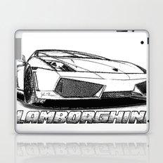 Lamborghini line drawing Laptop & iPad Skin