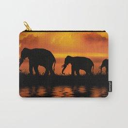 Elephant Safari Carry-All Pouch