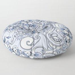 Mandalas and flowers Floor Pillow