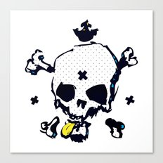 XXX Skull C Canvas Print