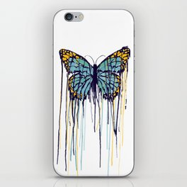 Melting Monarch (collab with Matheus Lopes) iPhone Skin