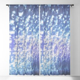 Out of the Blue  #Society6 #Decor #Buyart Sheer Curtain