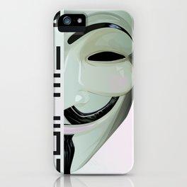 Call me V iPhone Case