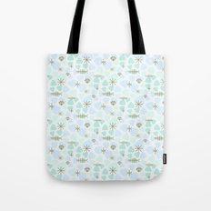 Mod fish mobile Tote Bag