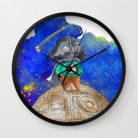 the little prince Wall Clocks featuring Little Prince by gunberk