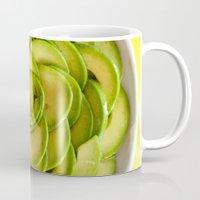 avocado Mugs featuring Avocado by Hector Wong