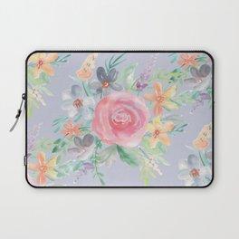 Modern Watercolor Rose Bouquets Laptop Sleeve