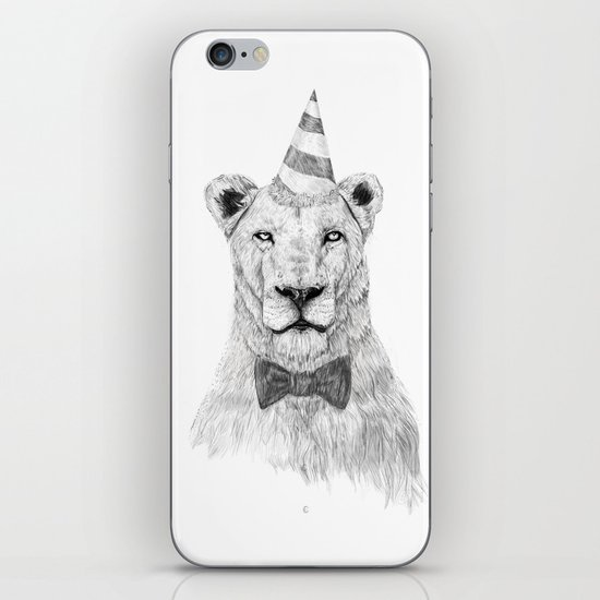 Get the party started iPhone & iPod Skin