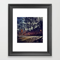Runner Framed Art Print