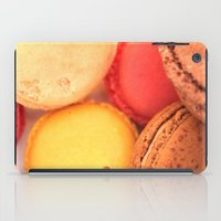 macaroons iPad Cases featuring Macaroons by alexarayy