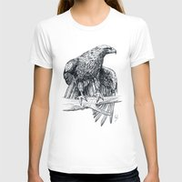 falcon T-shirts featuring Falcon illustration by Thubakabra