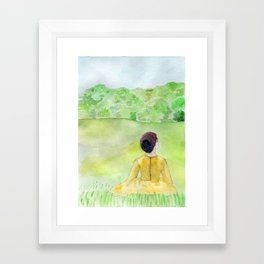 Meadow Framed Art Print