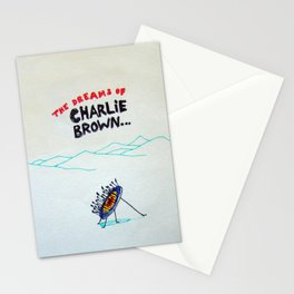 Dreams of Charlie Brown Stationery Cards