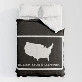 Black Lives Matter America Comforters