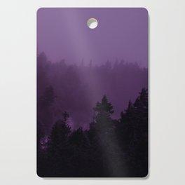 Purple Fog Cutting Board