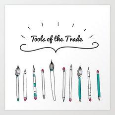 Tools of the Trade Art Print