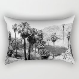 Palm Canyon near Palm Springs c.1901 Rectangular Pillow