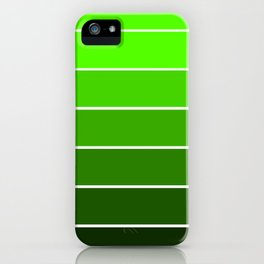 Forest Green Ombre iPhone Case