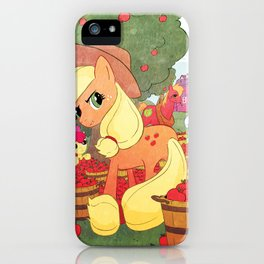 Applejack and Family iPhone Case