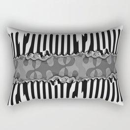 Fraktal Fences Rectangular Pillow