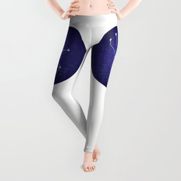 Taurus zodiac constellation Leggings