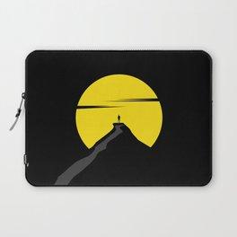 the moon the mountain Laptop Sleeve