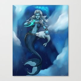 Arctic Defender Canvas Print