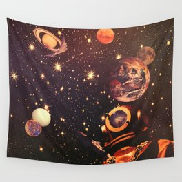 Space Boots. Wall Tapestry