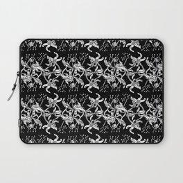 Pattern: Dark Floral II Laptop Sleeve