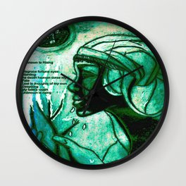 Patternsnrp1 Wall Clock