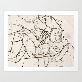 Baachus Dionysus-God of the Vine & Wine & Blinding Ecstasy Art Print