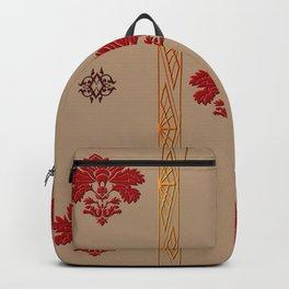 Chic Classique Art Deco Havana Gold Backpack