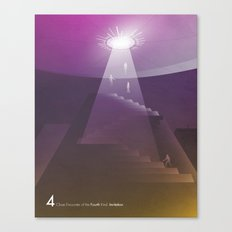 Close Encounter of the Fourth Kind - Invitation Canvas Print