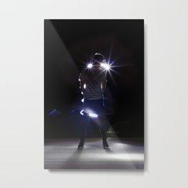 No Flash Photography Metal Print