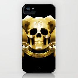 Golden Emblem iPhone Case