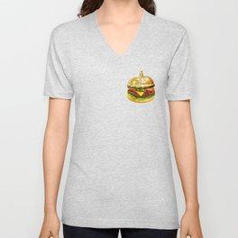 Burger Calling Unisex V-Neck