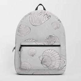 Elegant Sea Shell Art Backpack